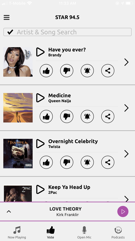 Star 94 5 App For Iphone Free Download Star 94 5 For Ipad Iphone At Apppure
