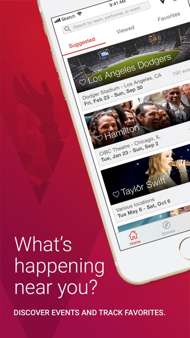 a320d4c5 Conveniently buy and sell tickets to top sports, concert, and theater events  with the FREE Vivid Seats mobile app.