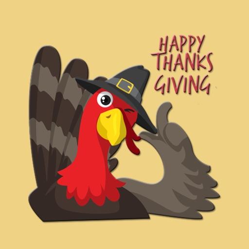 Grateful Thanksgiving Stickers