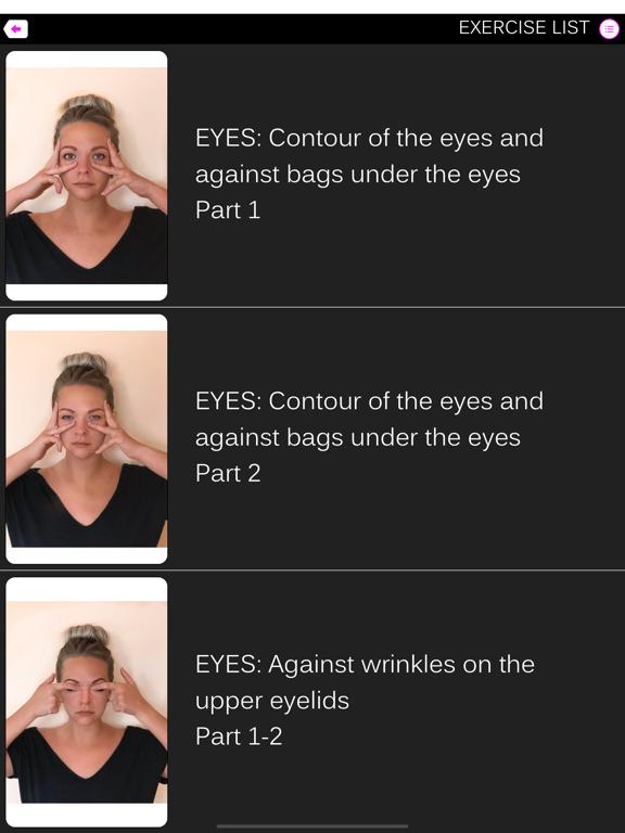 Facefitness - face exercise screenshot #1