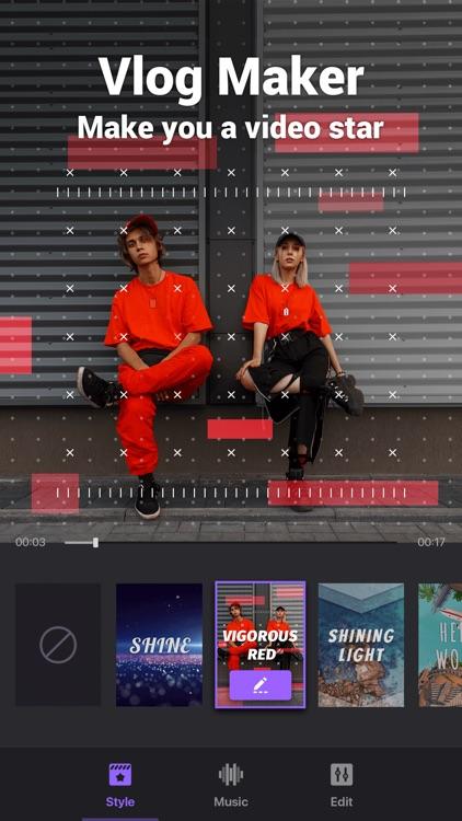 Video Maker&Video Editor Music screenshot-0