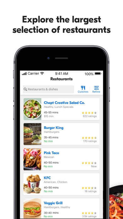 Grubhub: Local Food Delivery Screenshot on iOS
