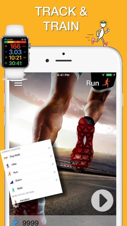 iRunner Run & Jog Tracker screenshot-0