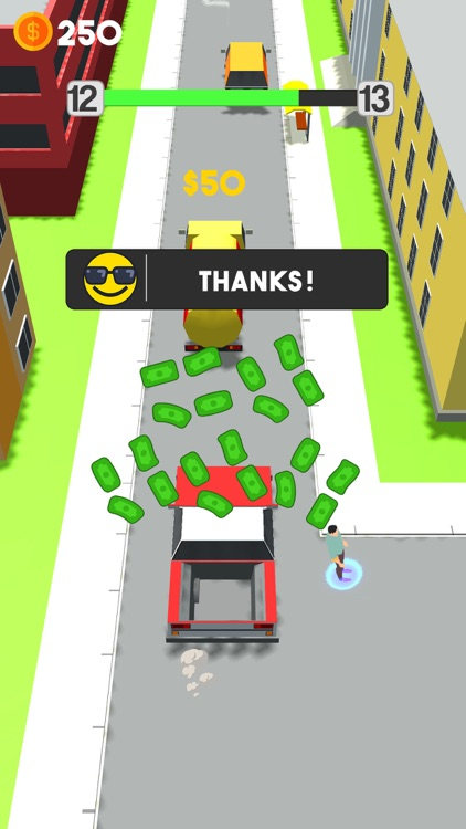 Pick Me Up 3d Traffic Runner screenshot-3