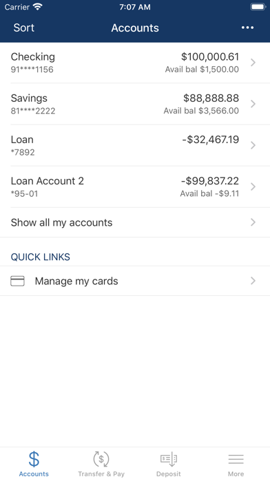 Ponce Bank MobileScreenshot of 3