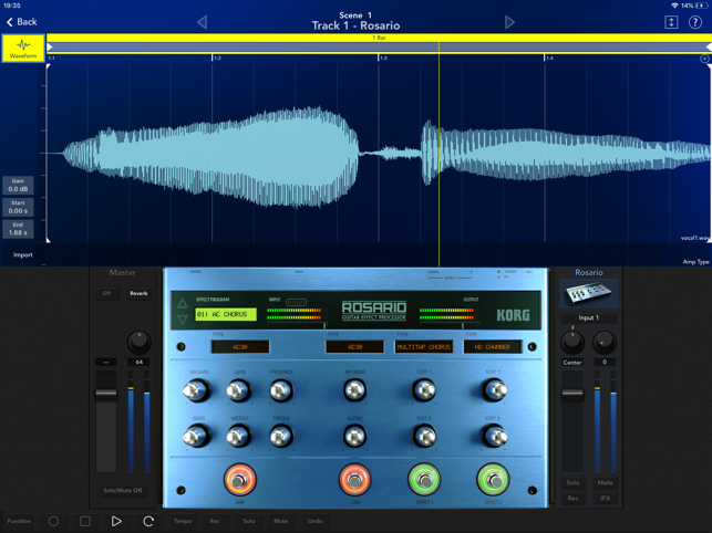 ‎KORG Gadget 2 Screenshot
