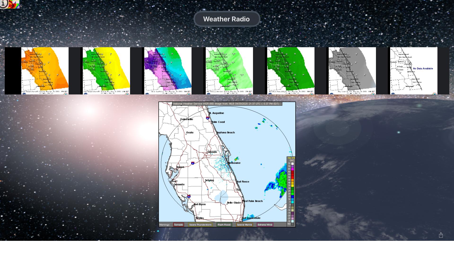 Instant NOAA Radios Lite screenshot 11