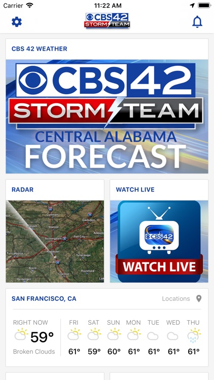 CBS 42 Weather screenshot-0