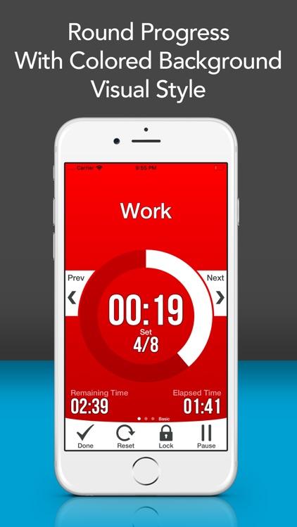Workout Interval Timer Lite screenshot-6