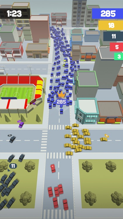 Crowd Drift Cars City io