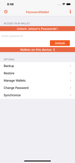 ‎PasswordWallet - All Inclusive Screenshot