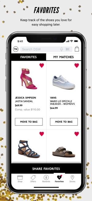 5986c075404010 DSW Designer Shoe Warehouse on the App Store