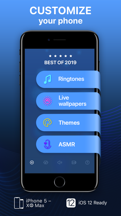 Screenshot for Ringtones for iPhone in Israel App Store