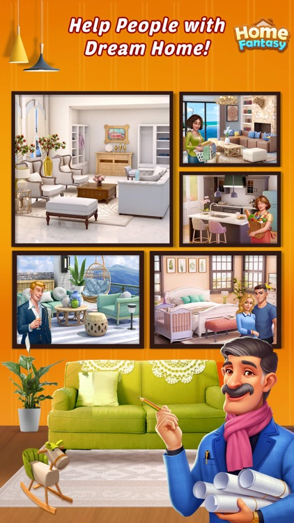 Home Fantasy: Home Design Game screenshot-2