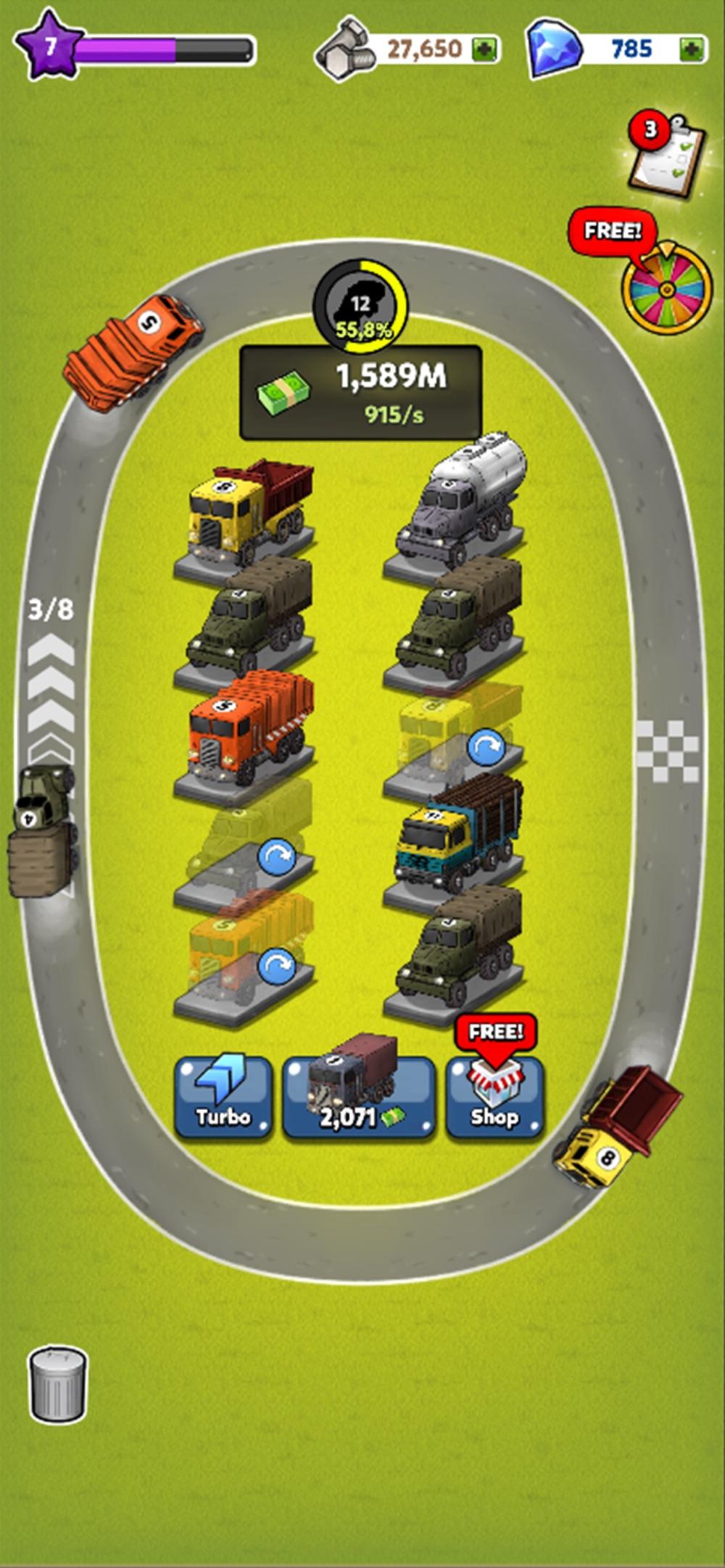 Merge Truck Cheat Codes