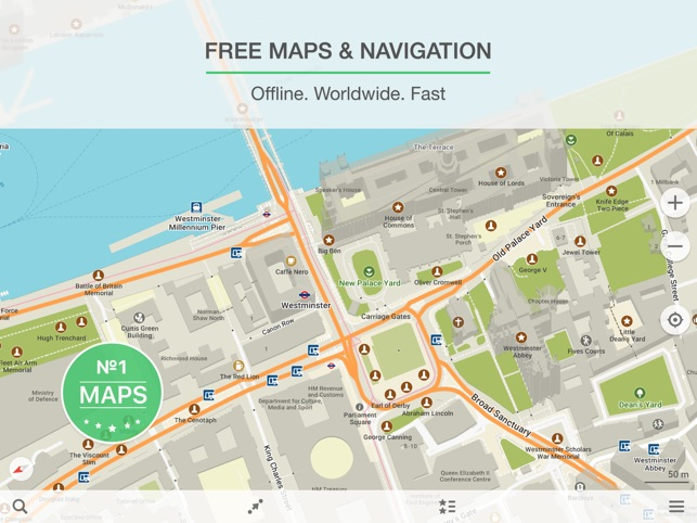 MAPS ME – Offline Map & Nav on the App Store