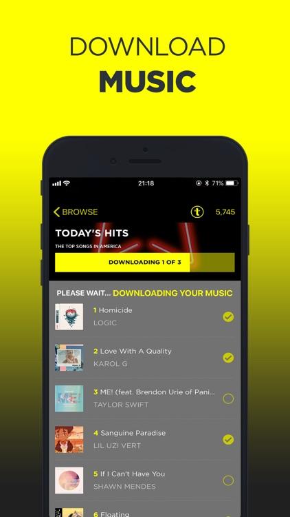 TREBEL Music - Download Songs screenshot-0