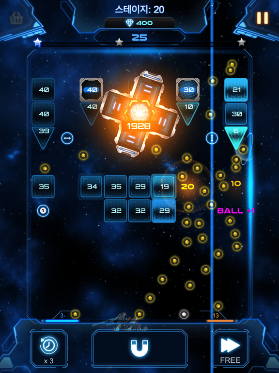 Bricks Breaker Galaxy Shooter screenshot 14