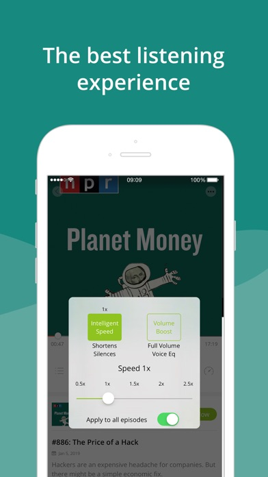 Podbean Podcast App & Player Screenshot