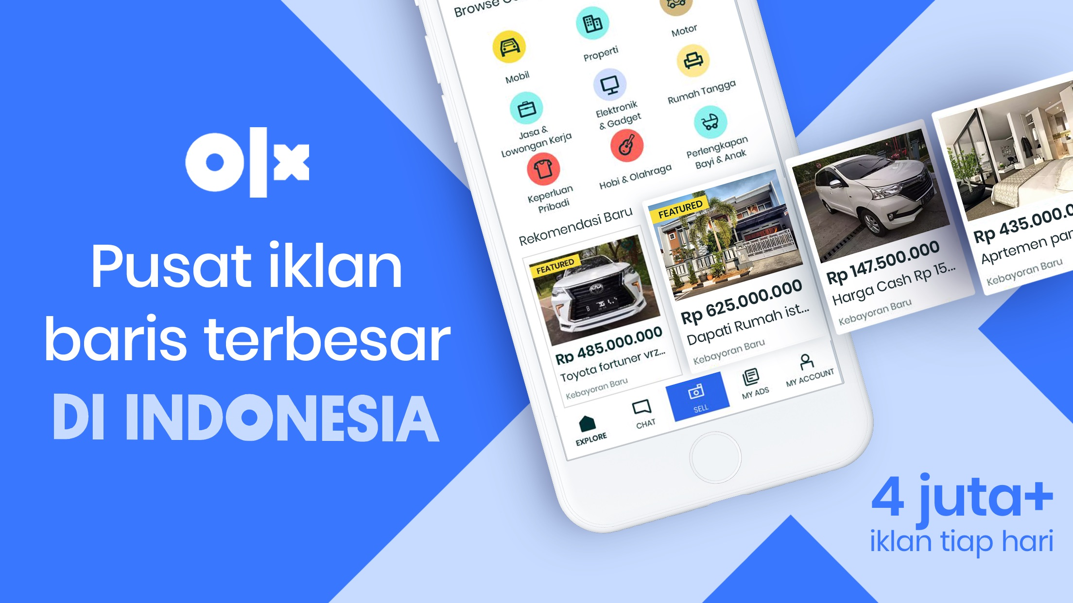 OLX Indonesia Screenshot