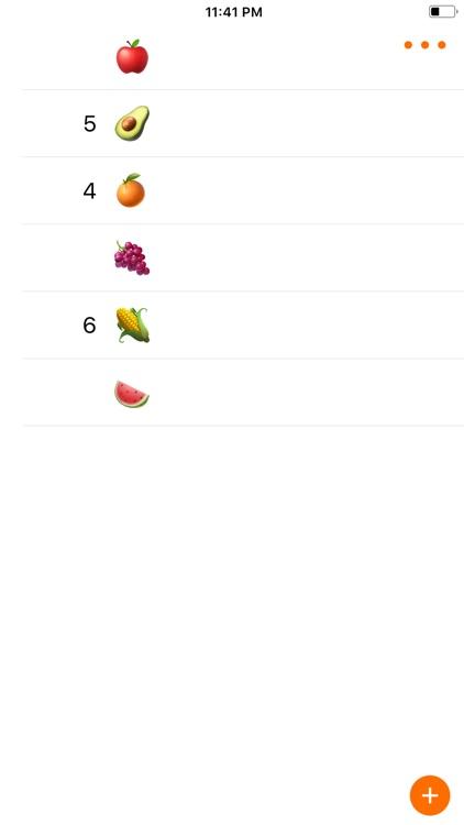 Foodlist screenshot-3