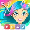 ヘアサロンユニコーン-女の子のためのヘアスタイリングゲーム