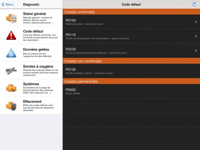 EOBD Facile - Diagnostic Auto dans l'App Store
