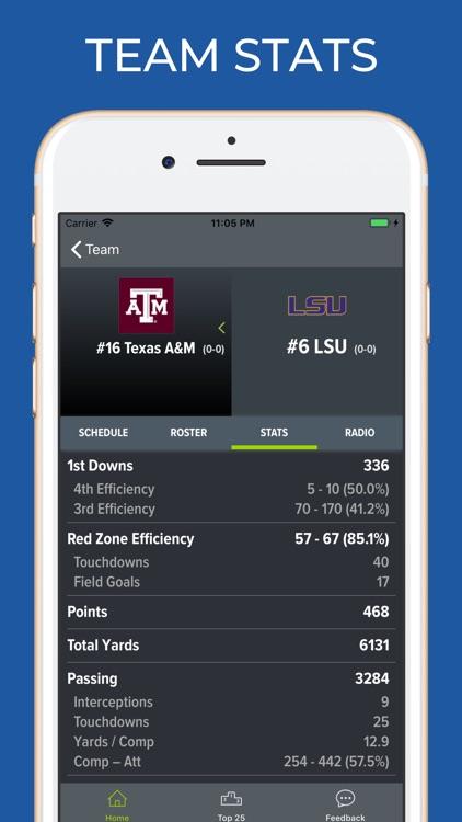 Texas A&M Football Schedules screenshot-4