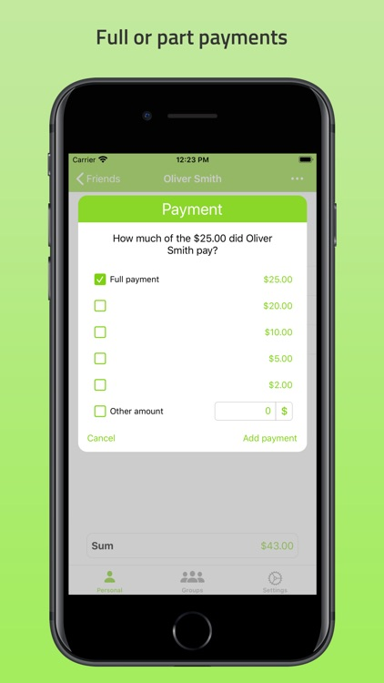 Who Owes Me - Debt Manager screenshot-4