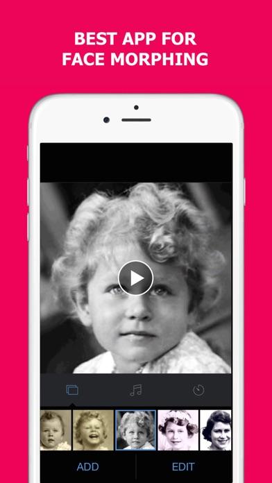 MORPH - Face Story Makerのスクリーンショット