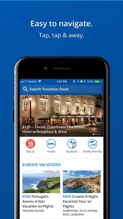 Travelzoo Hotel & Travel Deals screenshot-3