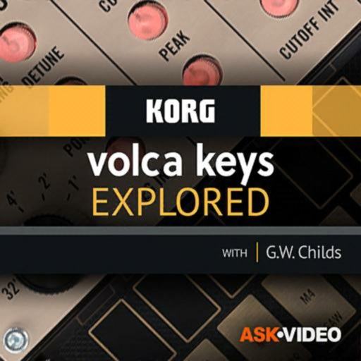 Explored Course For volca keys iOS App