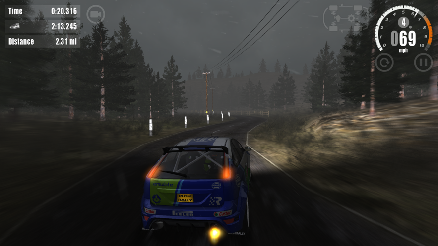 Rush Rally 3 App 截图