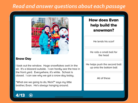3rd Grade Reading Prep Screenshots