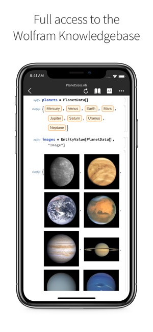 Wolfram Cloud on the App Store