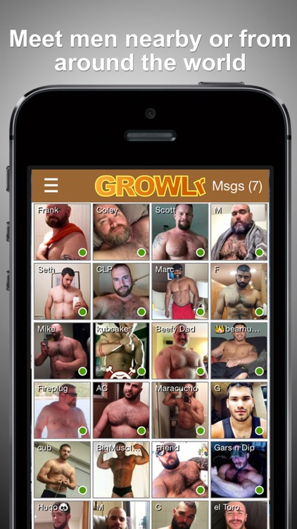 GROWLr: Gay Bears Near You on PC/Mac