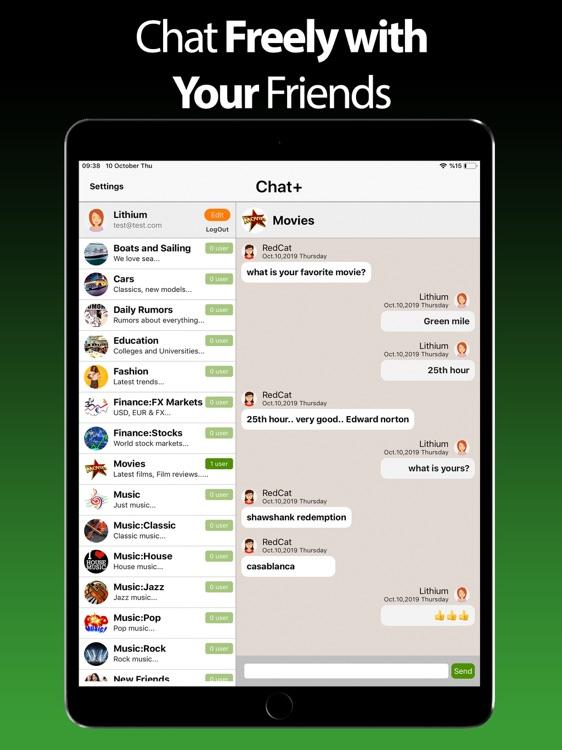Chat+ for Whatsapp - iPad screenshot-3