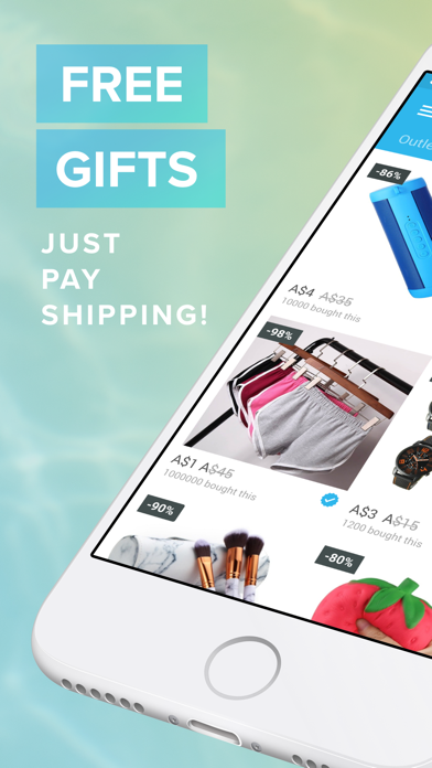 Screenshot for Wish - Shopping Made Fun in Australia App Store