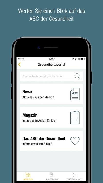HUK - Meine Gesundheit screenshot-4