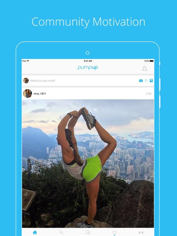 PumpUp - Health & Fitness Community screenshot