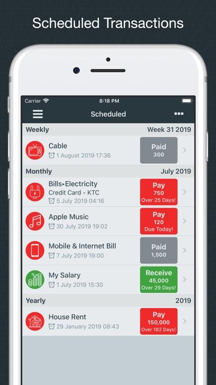 Money Easy - Expense Tracker screenshot-6