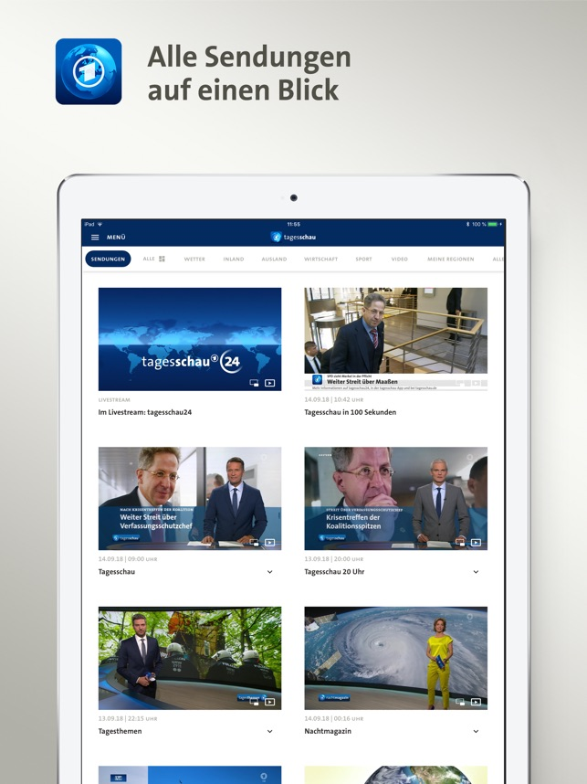 Tagesschau On The App Store