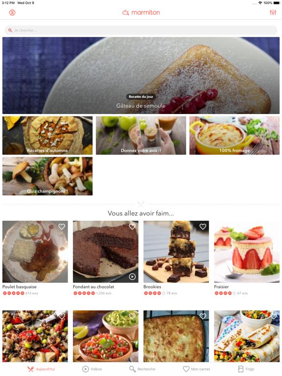 Marmiton : recettes de cuisine