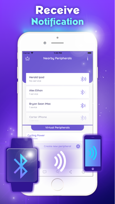 Smart BT Notifier by Thuan Sang (iOS, United Kingdom) - SearchMan