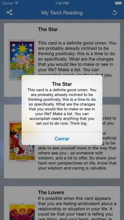 Daily Tarot Reading and Cards screenshot-4