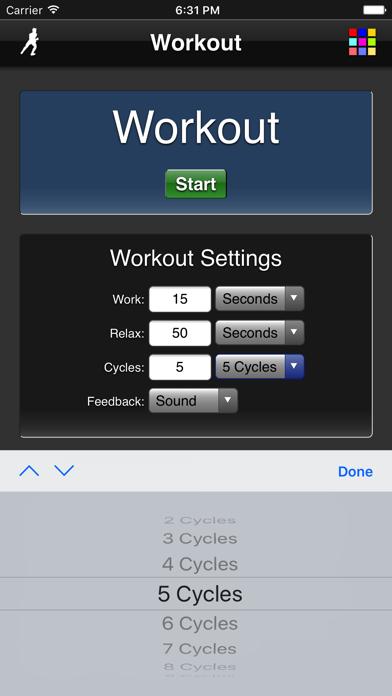 Workout screenshot four