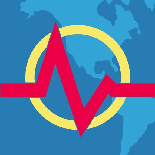 Earthquake + Alert, Map & Info