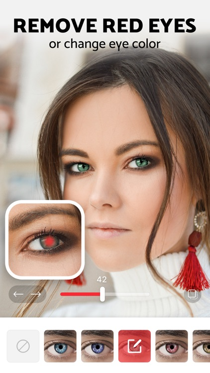Pixl: Red Eye Remover Editor