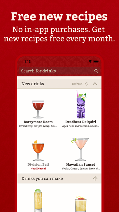 Cocktail Party: Drink Recipes Screenshot