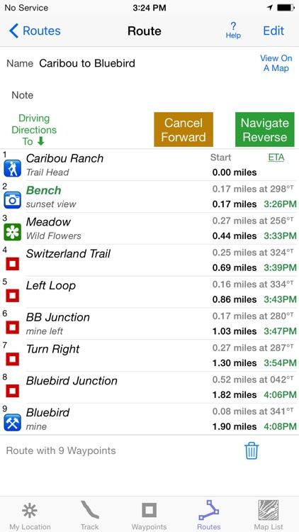 i Hike GPS : Topo Maps screenshot-3